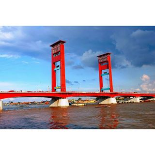 Ampera Bridge & Musi River